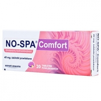 Но-шпа Комфорт / No-spa Comfort 40mg 2x12таблетки