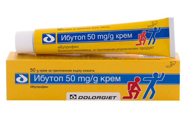 Ибутоп крем, Ibutop 50 mg/g cream 50g