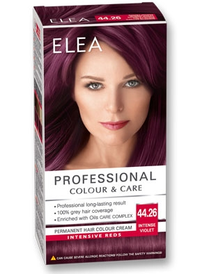 Боя за коса Elea Professional colour&care № 44/26 Виолет интенз