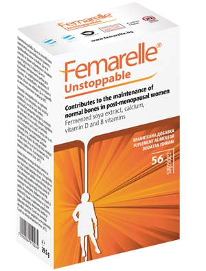 Фемарел Анстопабъл, Femarelle Unstoppable  56 капсули