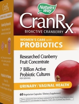 Кран Rx за жени, CranRx womens care с пробиотици 60 капсули