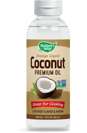 Кокосово масло Премиум течно, Coconut Premium Oil 300 мл