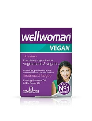 Уелуомън веган, Wellwoman vegan 60 таблетки