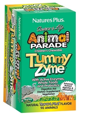 Анимал Парад ензими и пробиотици, Animal Parade Tummy Zyme 90 таблетки