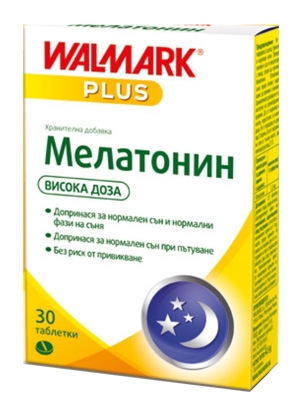 Мелатонин, Melatonin 3 мг 30 таблетки