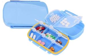 Кутия за лекарства (органайзер) седем дни Afya.bg