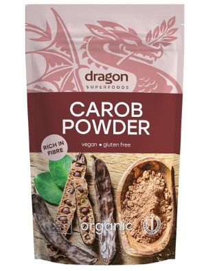 Био Брашно от рожков 200 гр Dragon Superfoods
