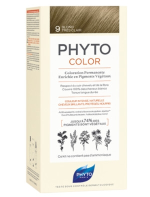 Фито, Phyto Phytocolor боя за коса 100 мл №9 Много светло русо