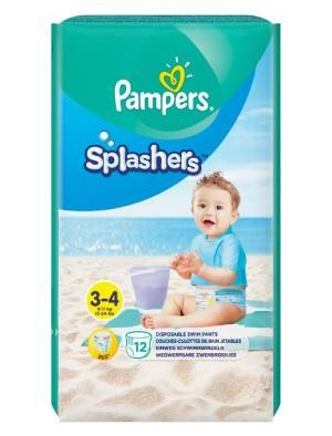 Памперс, Pampers Splashers S3 Бански за еднократна употреба 12 бр.