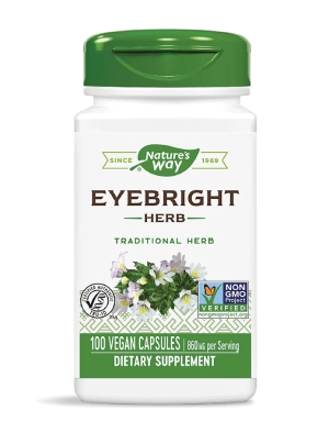 Очанка, Еyebright herb 430 мг 100 капсули Nature's Way