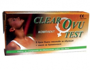 Тест за овулация CLEAR OVU test