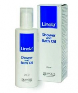 Линола / Linola Shower and bath oil масло за баня 200ml